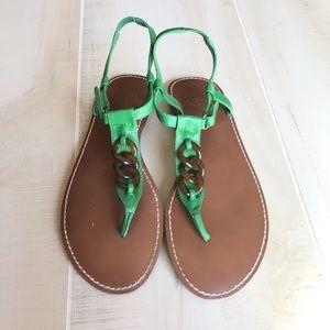 GAP Green Sandals